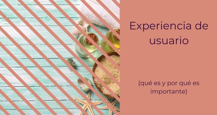 Experiencia de usuario y usabilidad